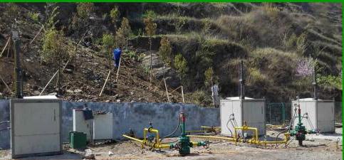 贵州六盘水GP井组应用无杆泵